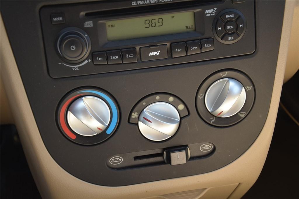 北汽威旺306中控台空调控制键